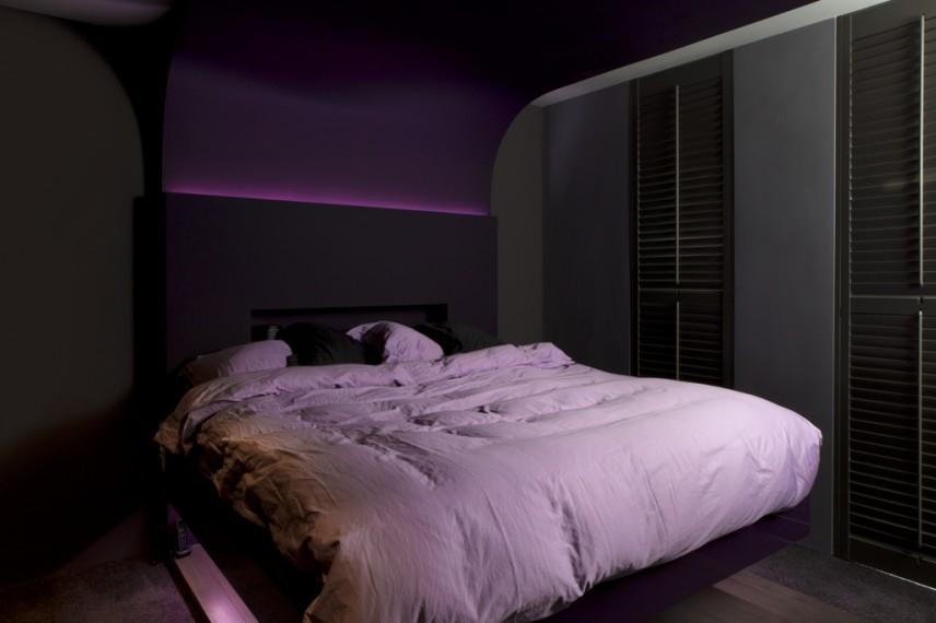 design zwevend bed kalque