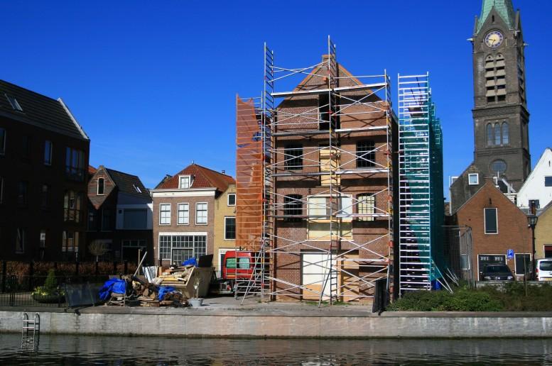 Pakhuis bauw vlaardingen restauratiearchitect J. Kalkhoven Delft