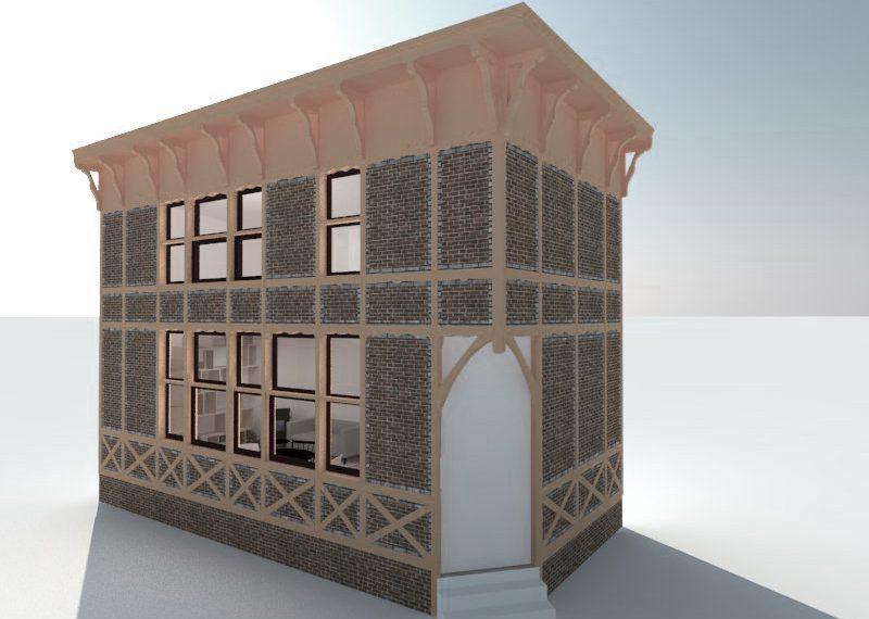 3D restauratie model