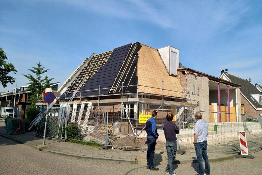aanbouw kerkgebouw